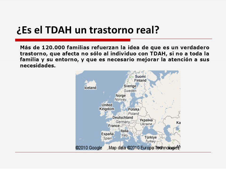 ¿Es el TDAH un trastorno real? Más de 120.000 familias refuerzan la idea de que es un verdadero trastorno, que afecta no sólo al individuo con TDAH, s