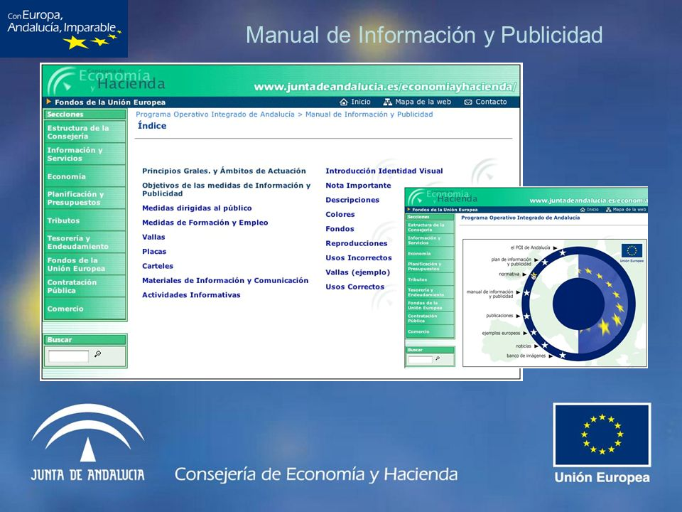 Manual de Información y Publicidad