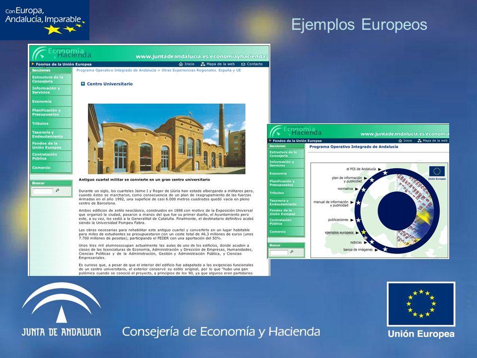 Ejemplos Europeos