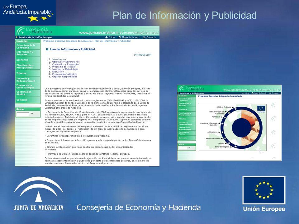 Plan de Información y Publicidad