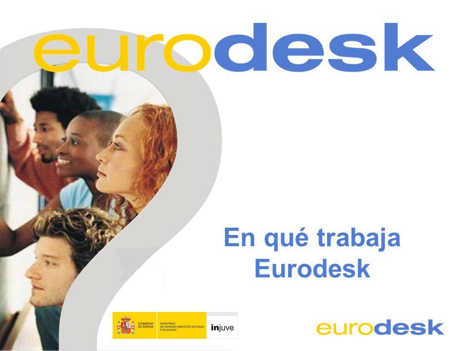 En qué trabaja Eurodesk