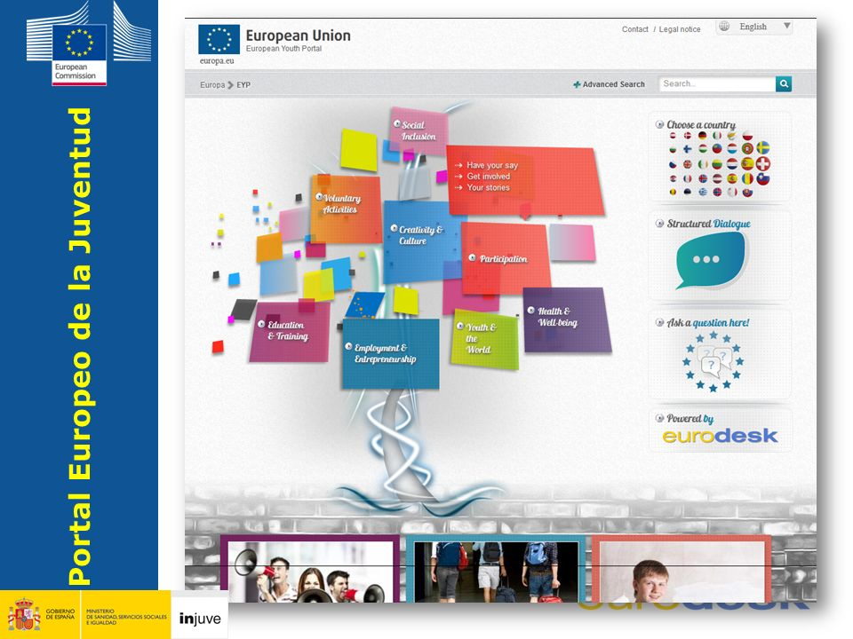 Youth Portal Europeo de la Juventud