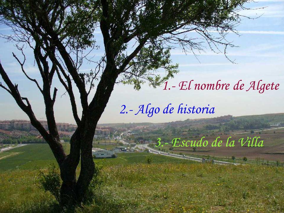 El nombre de Algete Toponimia árabe / Miguel Asín Palacios la acequia