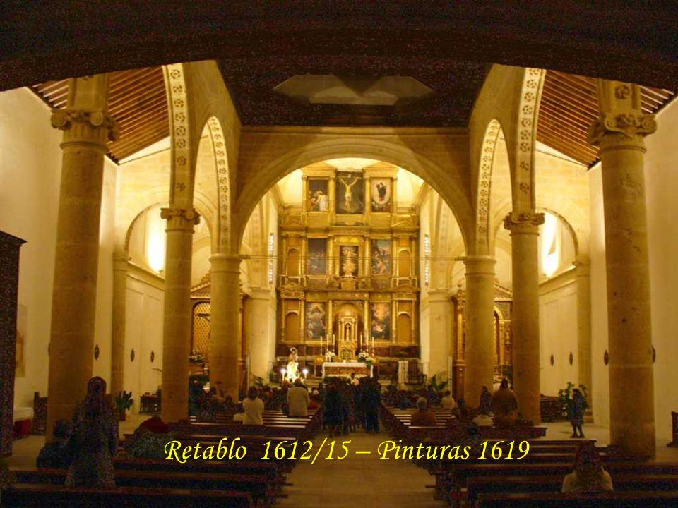 Retablo 1612/15 – Pinturas 1619