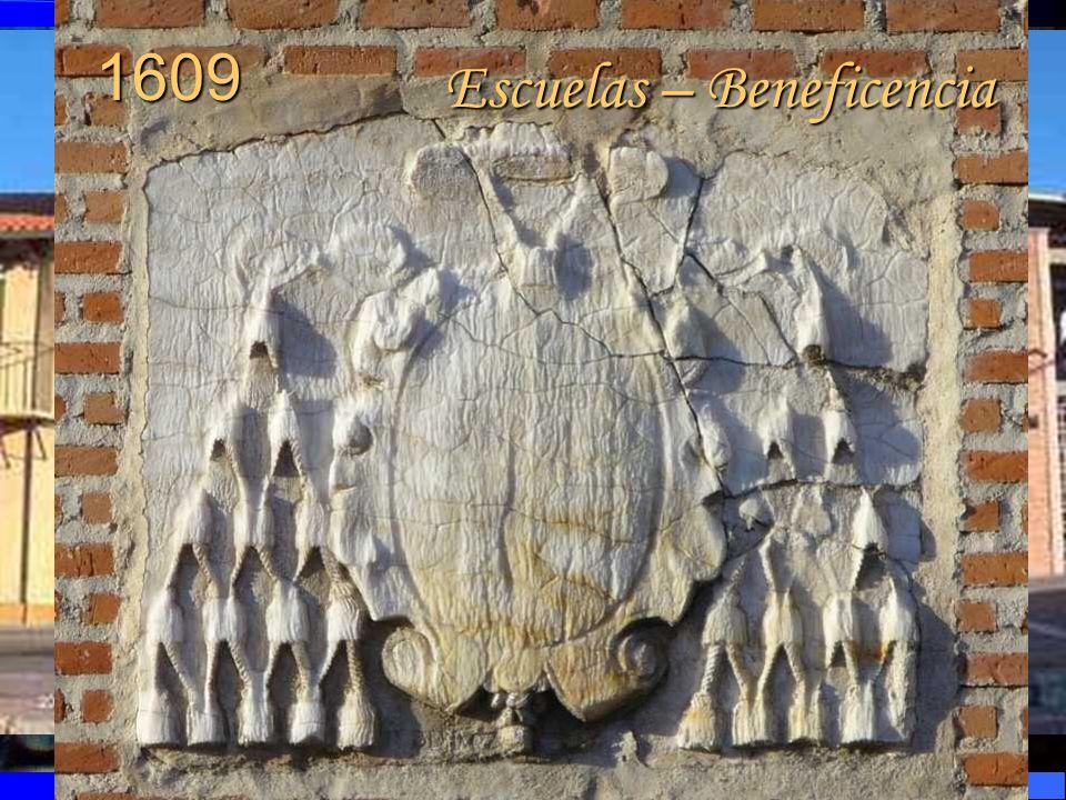 1609 Escuelas – Beneficencia