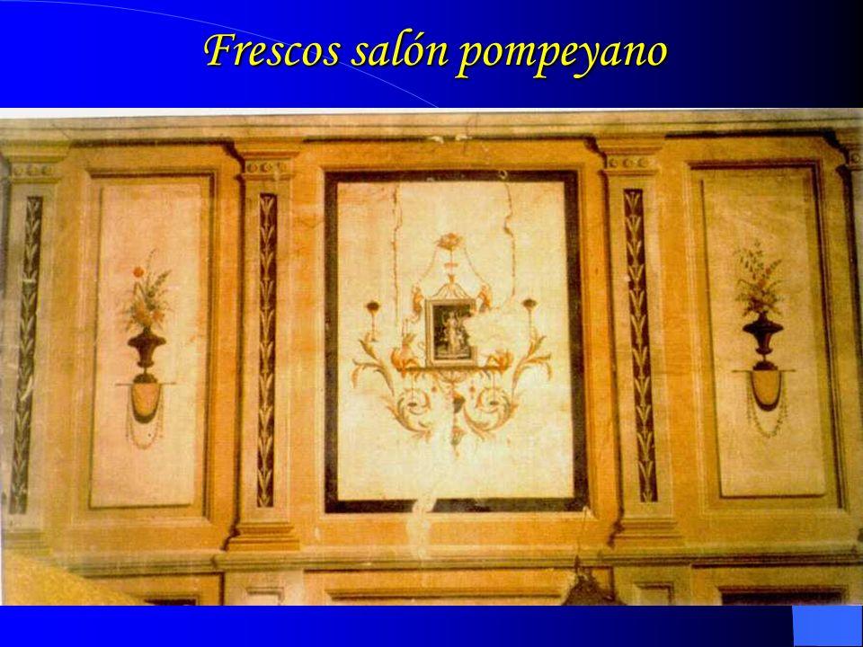 Frescos salón pompeyano