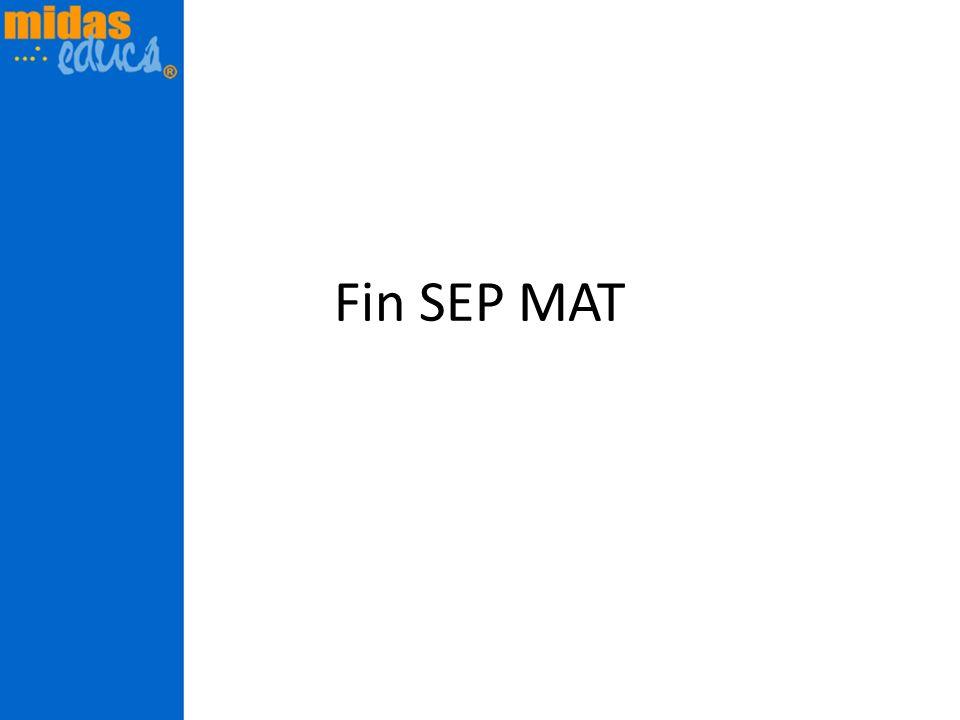 Fin SEP MAT