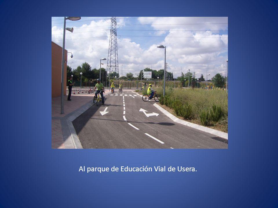 Al parque de Educación Vial de Usera.