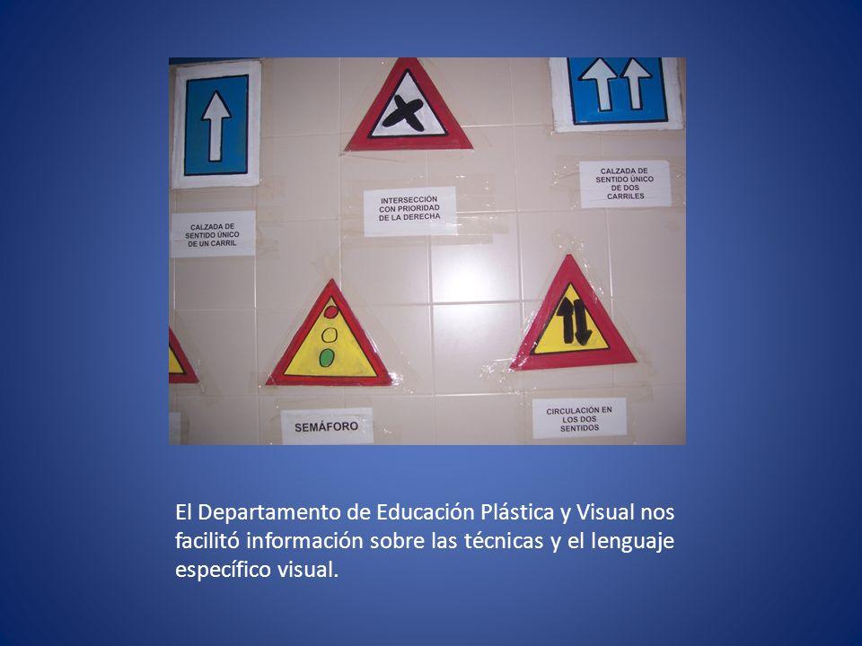 Se realizaron puzzles como análisis de imágenes que se exponen en la biblioteca del centro.