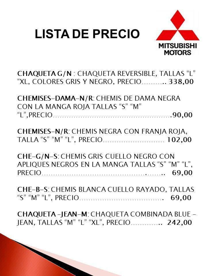 CHAQUETA G/N : CHAQUETA REVERSIBLE, TALLAS L XL, COLORES GRIS Y NEGRO, PRECIO………..