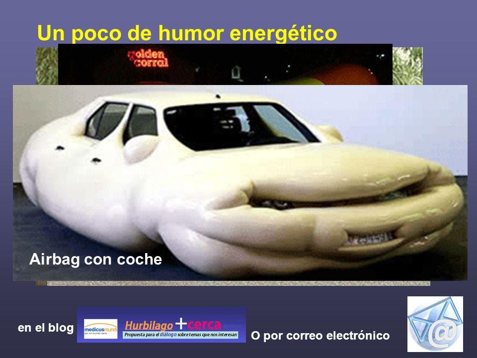 No te olvides de dar tus comentarios y opiniones O por correo electrónico Un poco de humor energético El coche verde más verde Come y recome en el blo