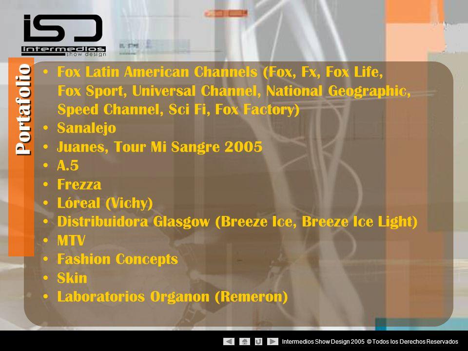 Intermedios Show Design 2005 © Todos los Derechos Reservados : Contactos Intermedios Show Design 4ta.