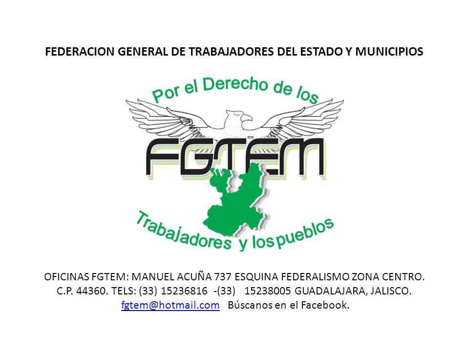 OFICINAS FGTEM: MANUEL ACUÑA 737 ESQUINA FEDERALISMO ZONA CENTRO.