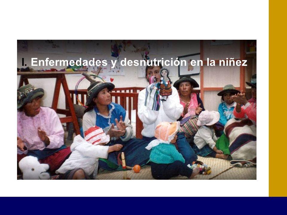 I. Enfermedades y desnutrición en la niñez