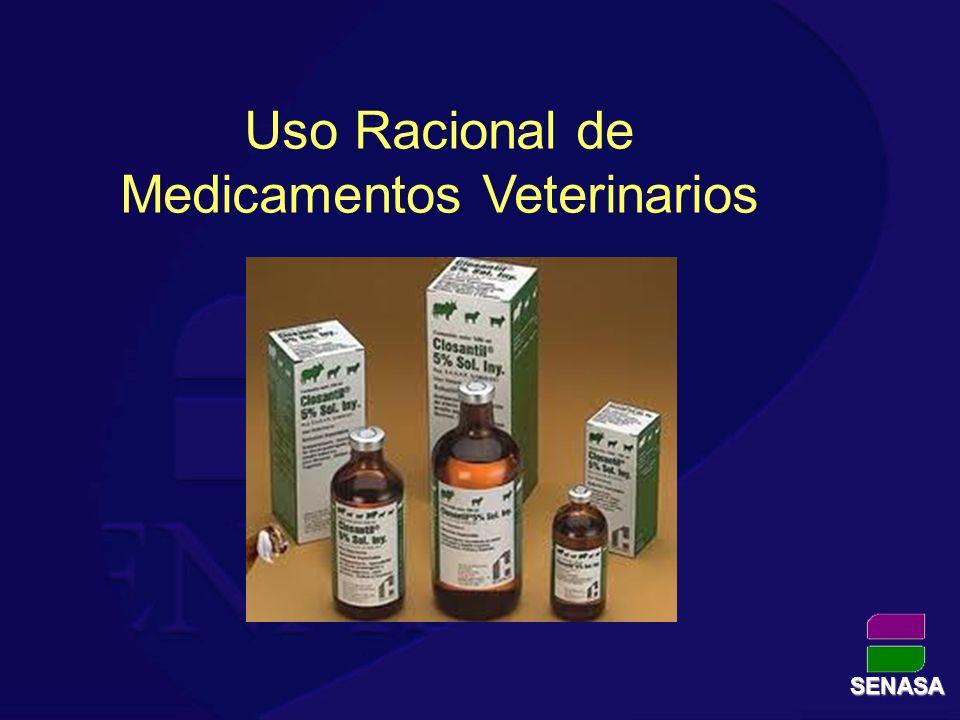 SENASA Uso Racional de Medicamentos Veterinarios