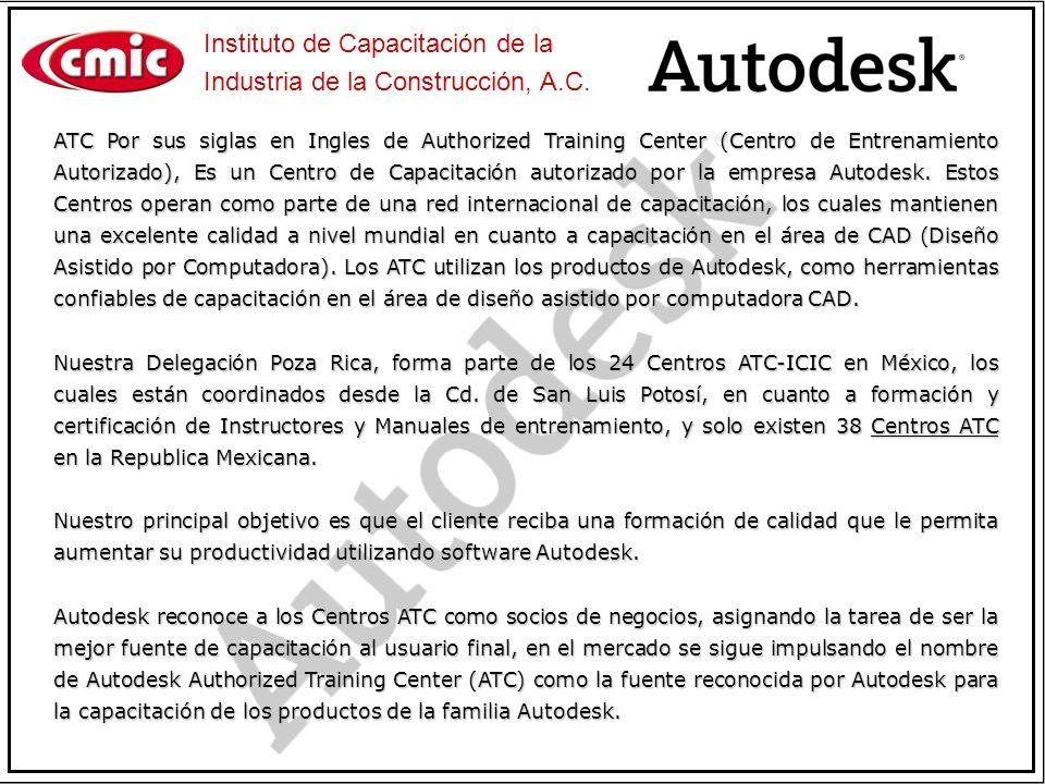 ATC Por sus siglas en Ingles de Authorized Training Center (Centro de Entrenamiento Autorizado), Es un Centro de Capacitación autorizado por la empres