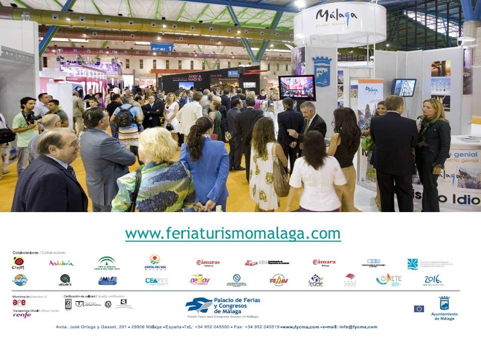 FITC & CB 2009 en cifras www.feriaturismomalaga.com