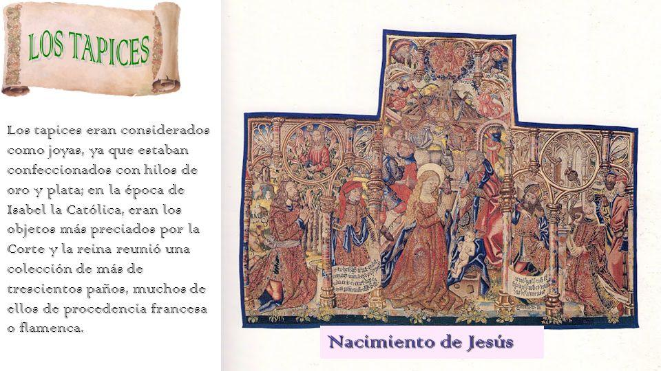 Joyero de la Reina Católica Isabel La Católica donó alguna de sus joyas y piezas de orfebrería a la Capilla Real y el resto mandó que se vendiese. Que