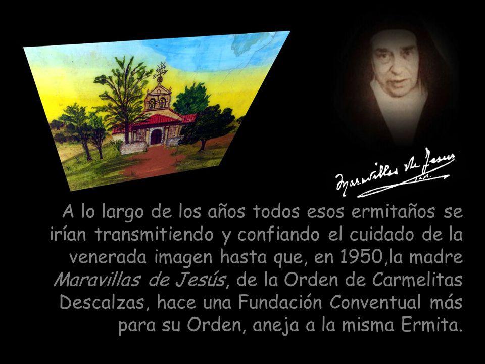 En 1708 parece que Cabrera queda despoblada; desaparece la Parroquia como tal pero queda la imagen del Santo Cristo para la veneración de los devotos