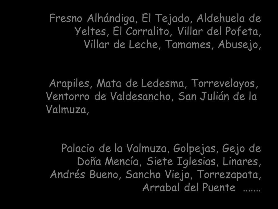 Otros cofrades proceden de: Cilleros el Hondo, Membribe, Monterrubio de la Sierra, Ledesma, Matilla de los Caños, Las Navas, Villalba de los Llanos, C