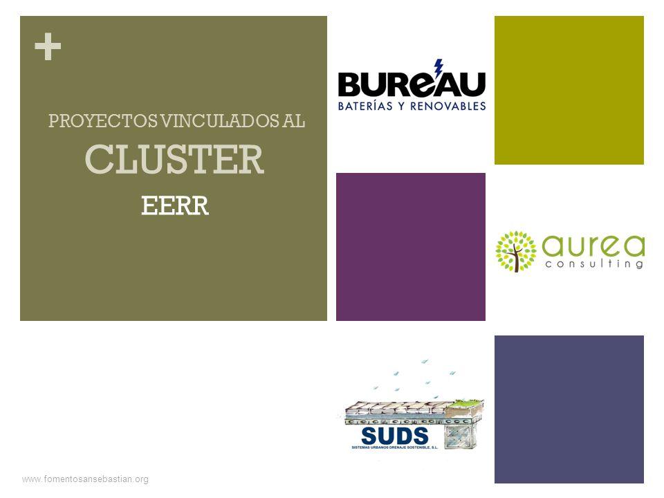 + www.fomentosansebastian.org CLUSTER PROYECTOS VINCULADOS AL EERR