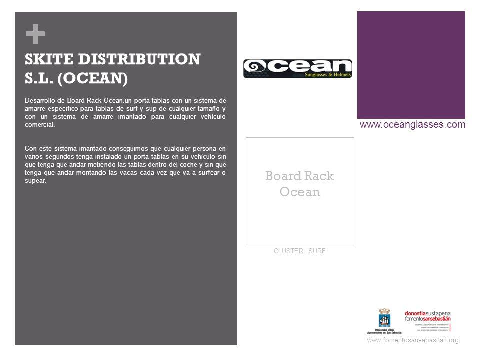 + Board Rack Ocean www.fomentosansebastian.org CLUSTER: SURF Desarrollo de Board Rack Ocean.un porta tablas con un sistema de amarre especifico para t