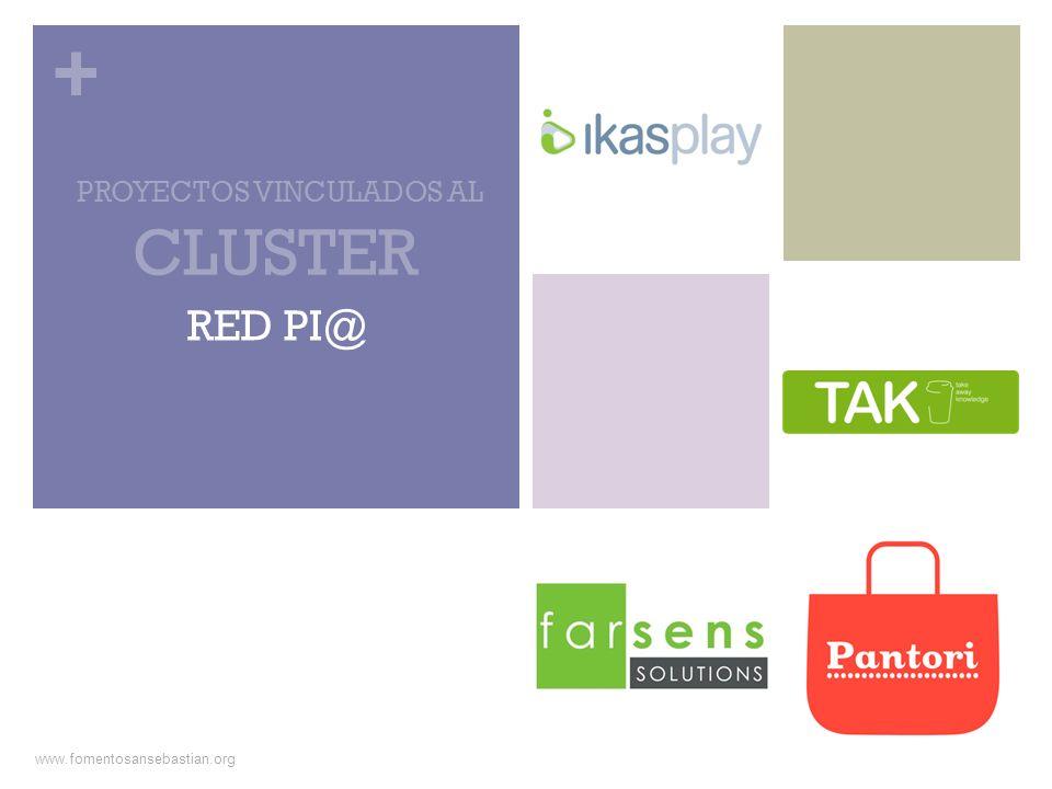 + e-Kasi (entrepreneurship knowledge and skills improvement) www.ikasplay.com www.fomentosansebastian.org CLUSTER: RED PI@ El proyecto tiene como objetivo general diseñar y desarrollar un SeriousGame 3D para la formación de emprendedores.