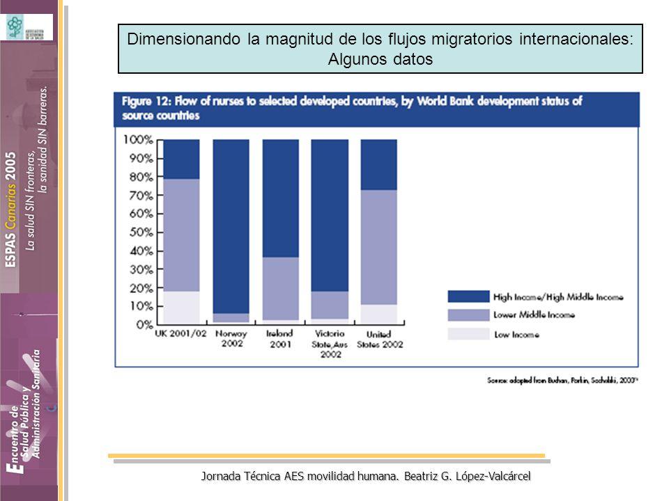 Dimensionando la magnitud de los flujos migratorios internacionales: Algunos datos