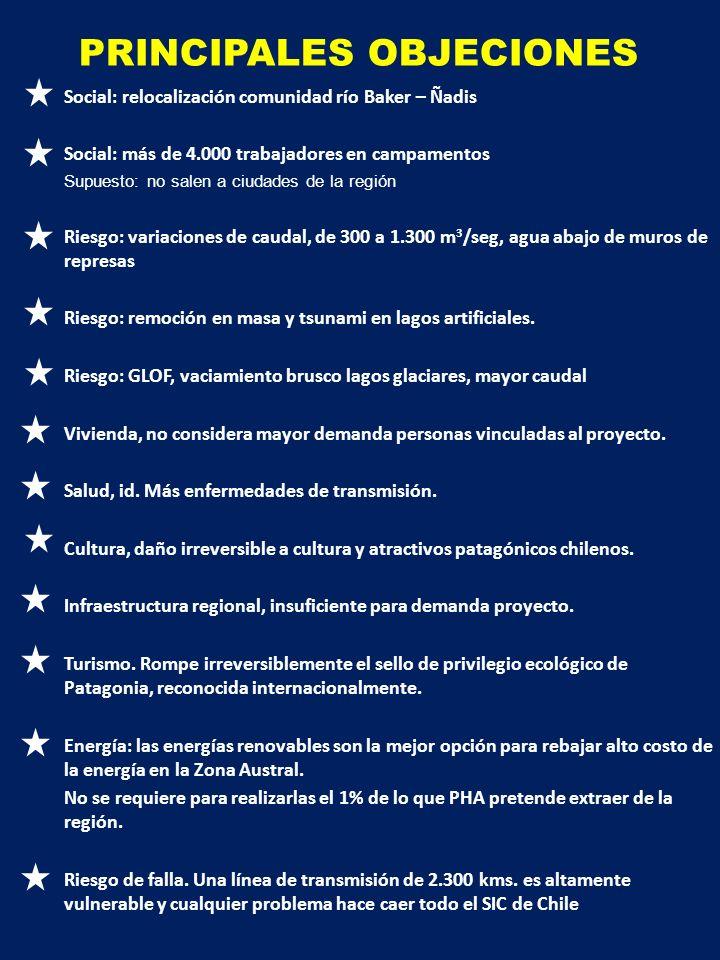 POTENCIAL ENERGÍAS RENOVABLES NO CONVENCIONALES DE CHILE Y ZONA AUSTRAL TIPO DE ENERGÍAPOTENCIAL CHILE (MW) POTENCIAL ZONA AUSTRAL (MW) Geotermia (A.