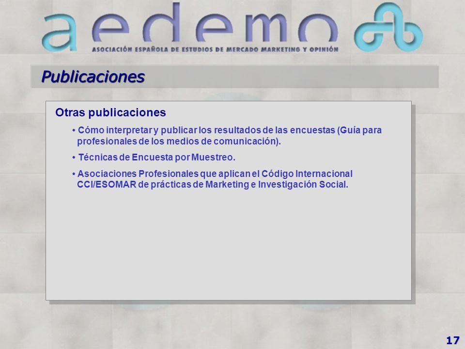 Publicaciones Otras publicaciones Cómo interpretar y publicar los resultados de las encuestas (Guía para profesionales de los medios de comunicación).