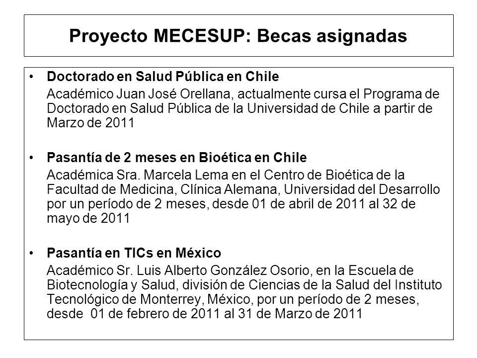 Proyecto MECESUP: Adquisición de Bienes A.