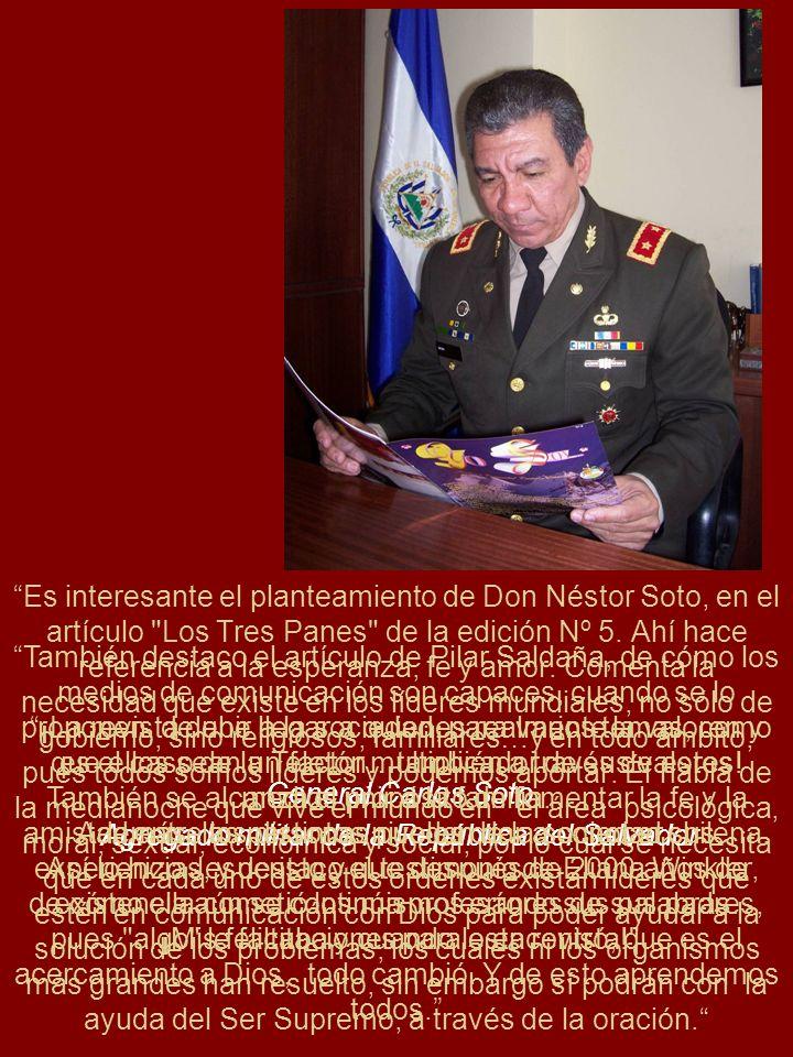 Es interesante el planteamiento de Don Néstor Soto, en el artículo
