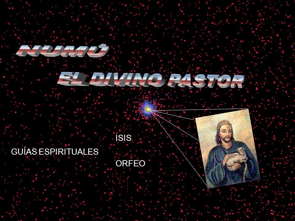 GUÍAS ESPIRITUALES ISIS NUMÚ ORFEO