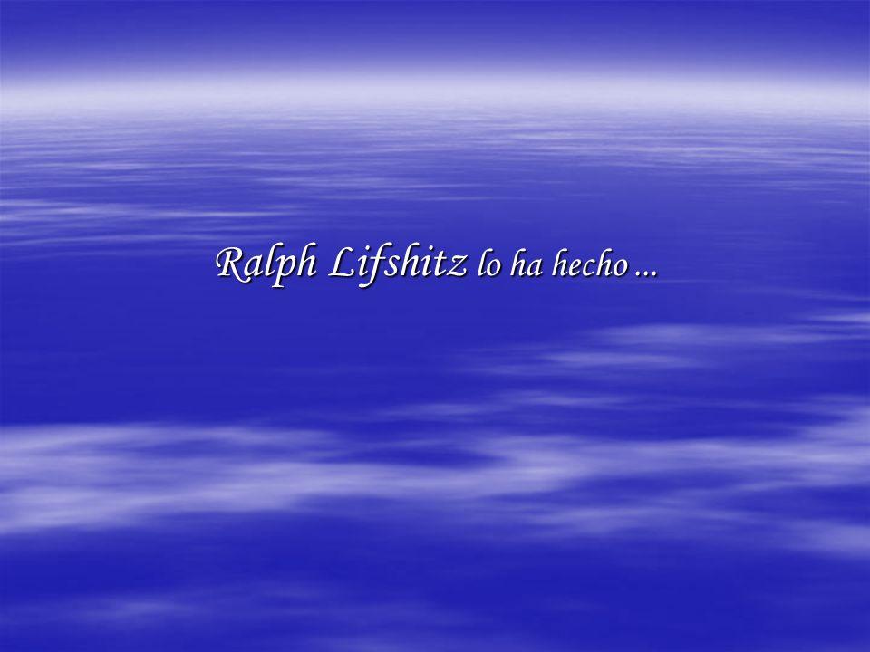 Ralph Lifshitz lo ha hecho...