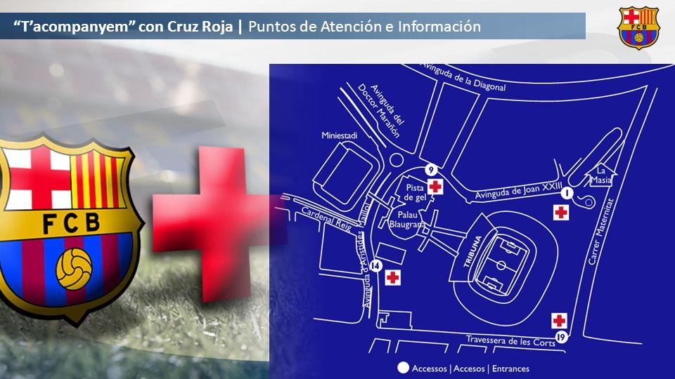 Tacompanyem con Cruz Roja | Puntos de Atención e Información