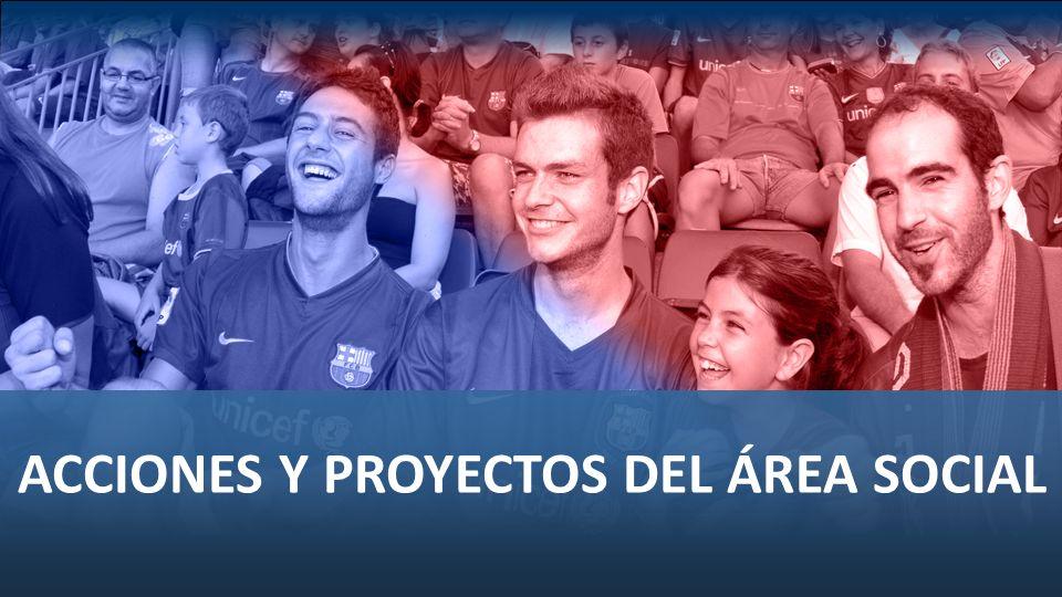 ACCIONES Y PROYECTOS DEL ÁREA SOCIAL