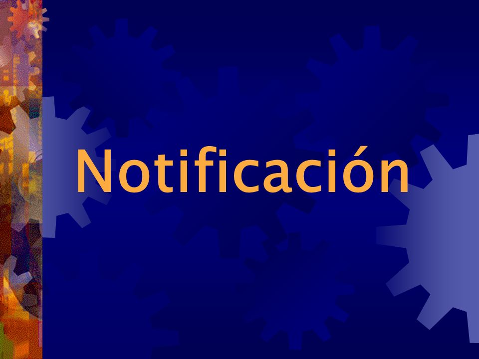 Notificación