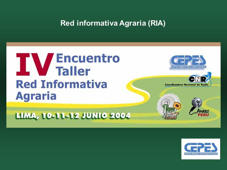 Red informativa Agraria (RIA)