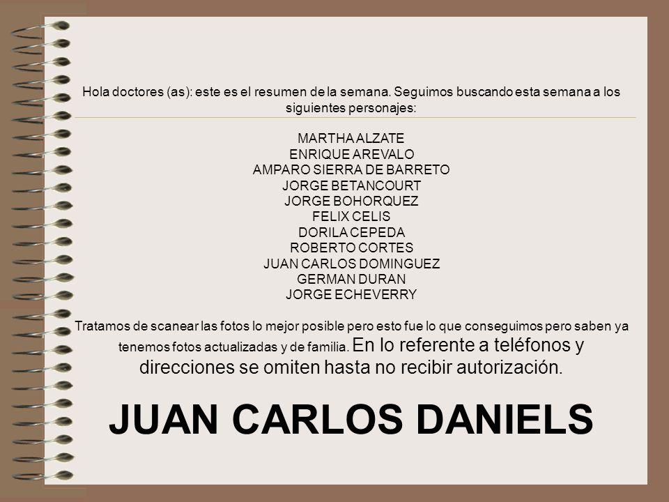 JACQUELINE RUIZ CASTRO (lruiz@bidmc.harvard.edu)lruiz@bidmc.harvard.edu Hola Juan Carlos: Muy bueno lo de los mensajes….tienes algunos antes de estos que yo no recibi.