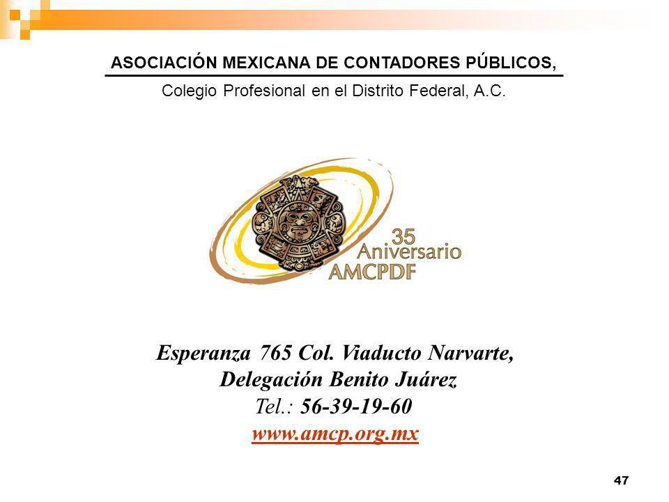 47 Esperanza 765 Col.