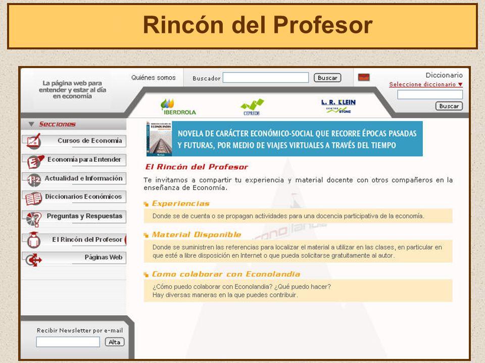 El Rincón del Profesor