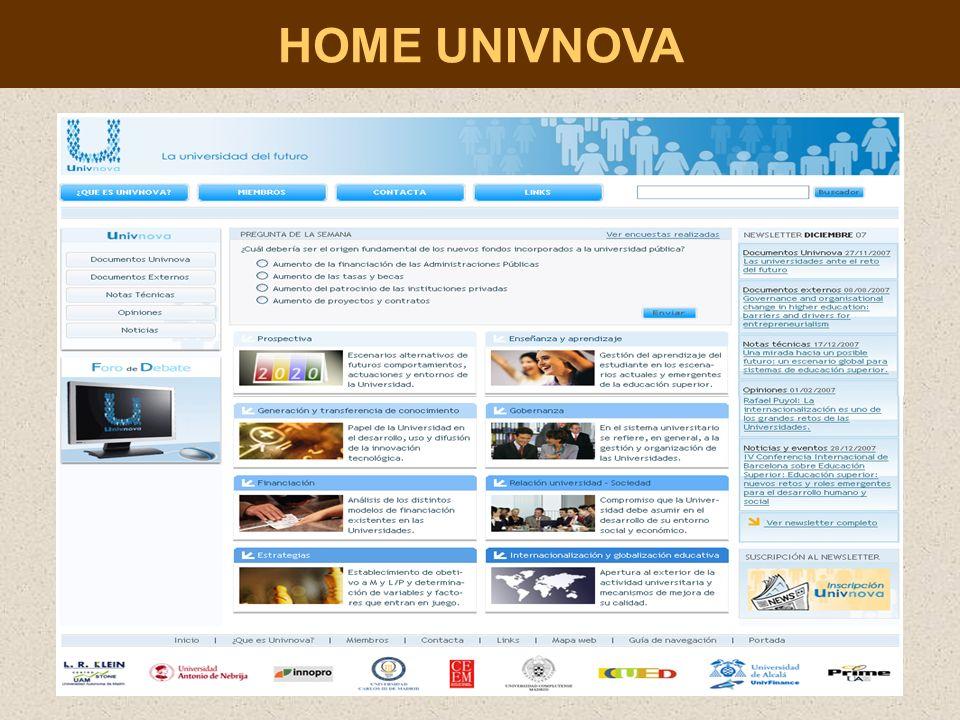HOME UNIVNOVA