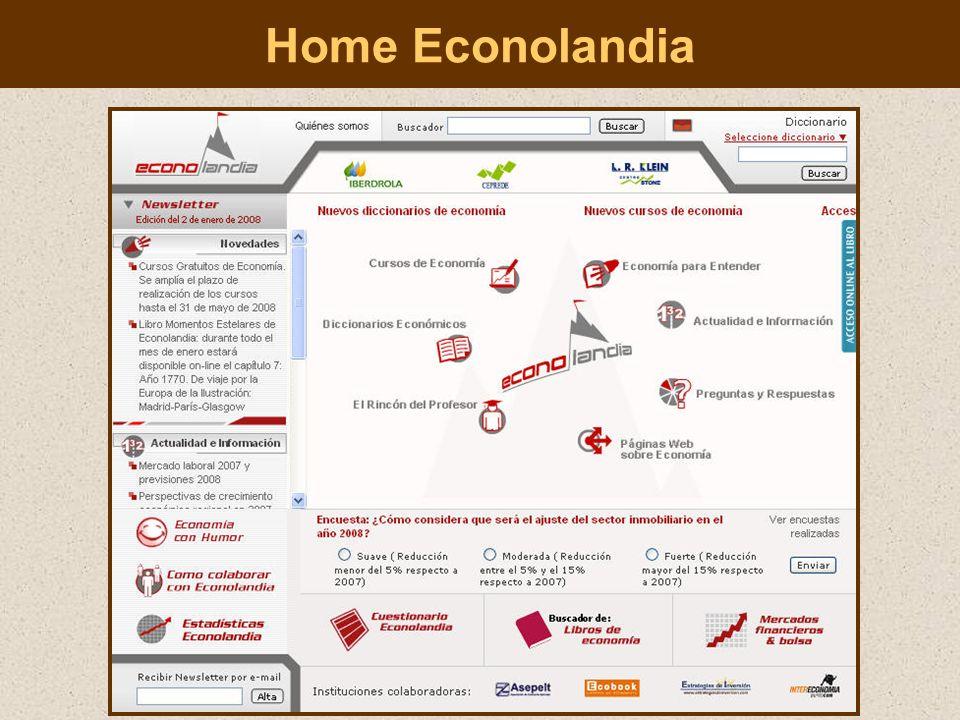 Diccionario de términos económicos