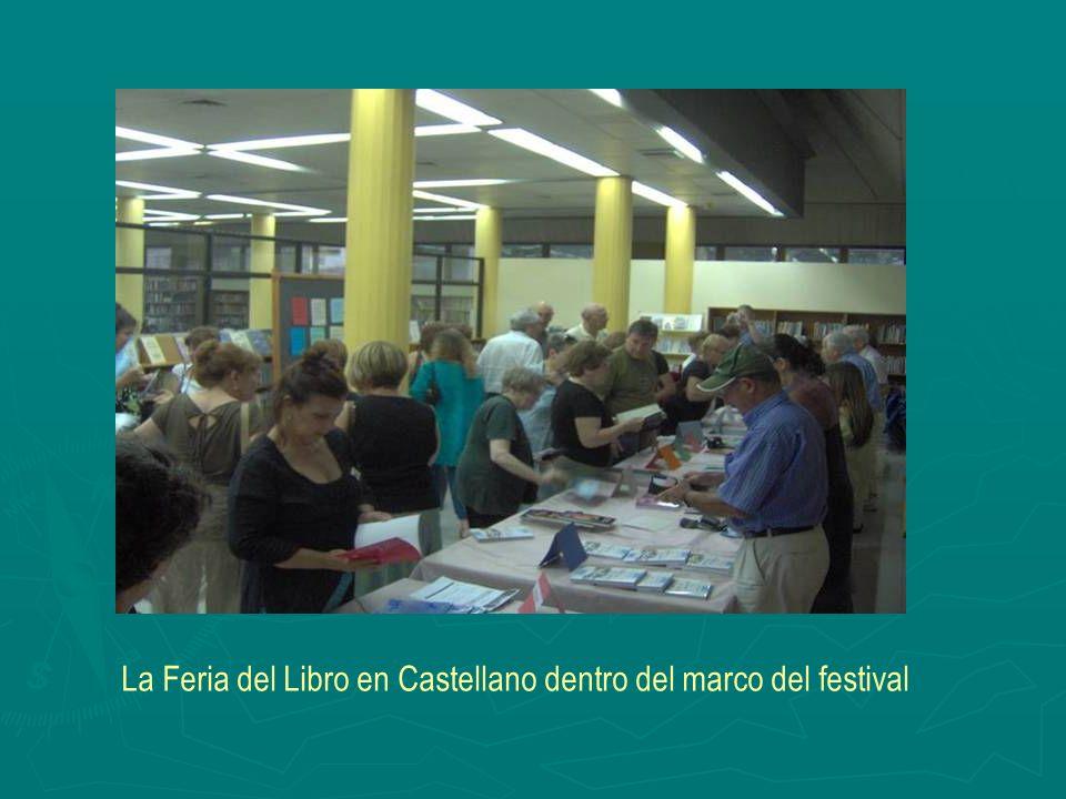 La Feria del Libro en Castellano dentro del marco del festival
