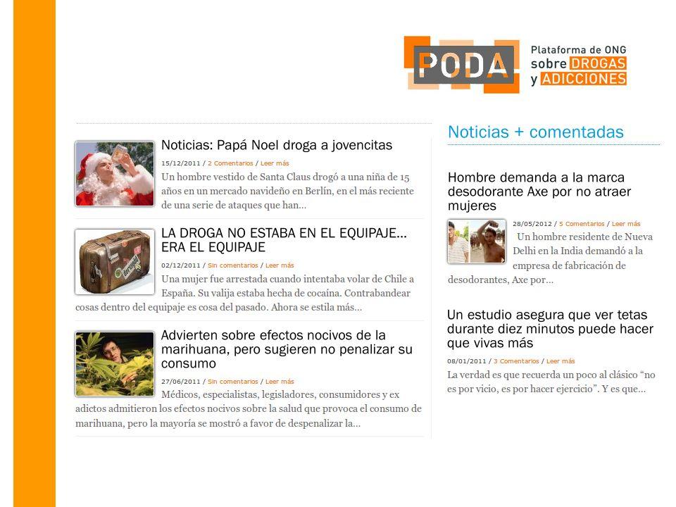 Jornada de PODA 25 de junio de 2012 Toda la información en www.plataformapoda.org