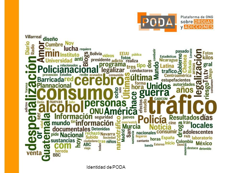 Se habla de tráfico, de consumo, de policía, de alcohol, la ONU, cerebro y guerra.
