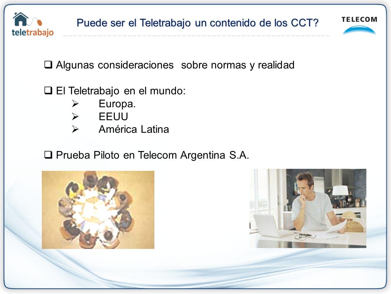 PaísNormaAñoFinalidadEfectosCaracteristicas Chile Codigo de Trabajo2001 Consagracion del teletrabajo en el ordenamiento juridico Generales No hay una ley especial que lo regule.
