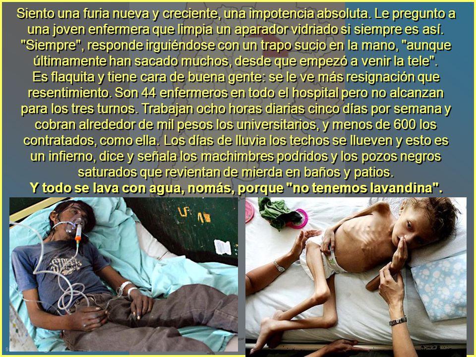 sonialilianafio@yahoo.com.ar Entramos -nuevamente por atrás- al Hospital de Castelli, que se supone atiende al 90 o 95 por ciento de los aborígenes de todo el Impenetrable.