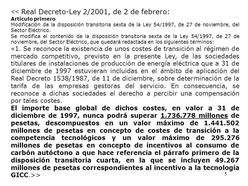 ley 54 1997: