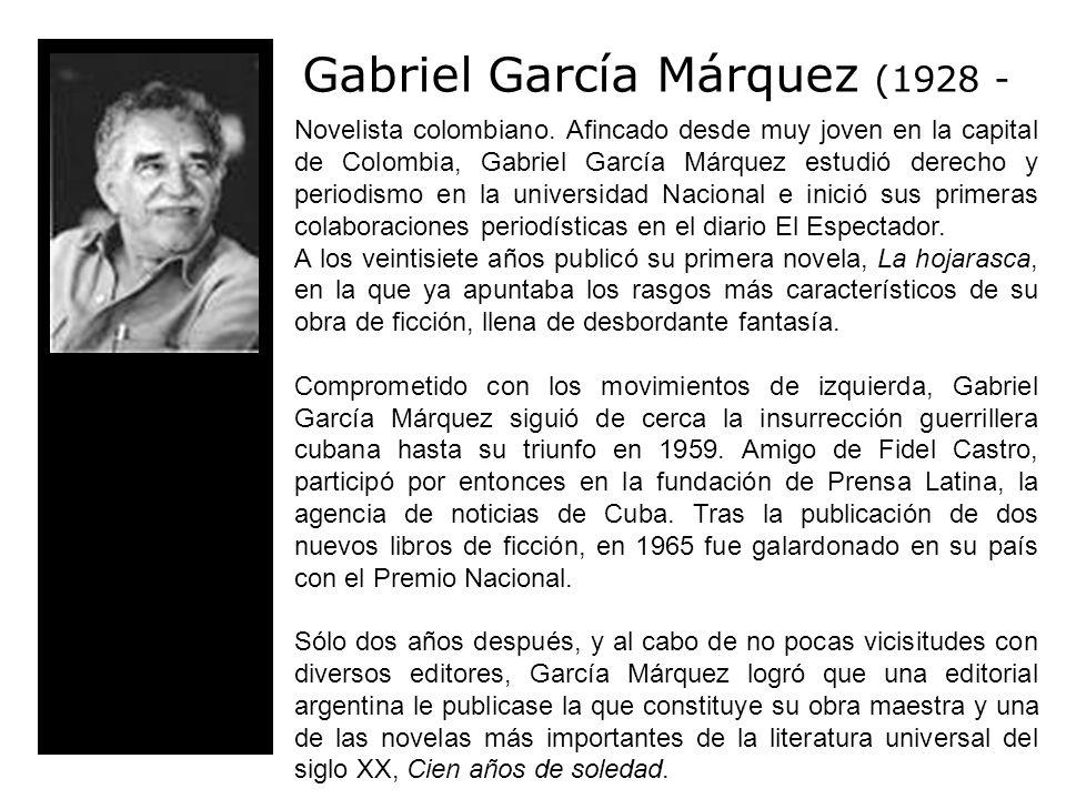 Novelista colombiano.